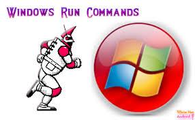 விண்டோஸ் xp run commands.
