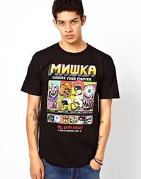 <b>Футболка Mishka</b> Choose Your Fighters | ASOS