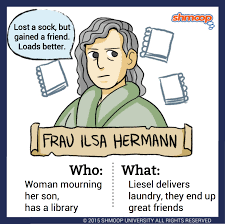 frau ilsa hermann in the book thief character analysis