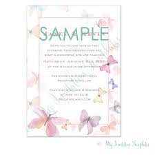 butterfly wedding invitation template sample butterfly wedding invitation template sample