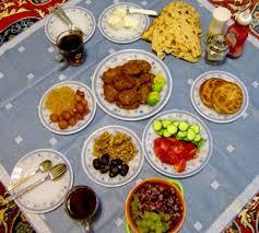 نتیجه تصویری برای رژیم غذایی در ماه رمضان