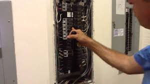 removing and changing out breaker from ge electrical panel box removing and changing out breaker from ge electrical panel box