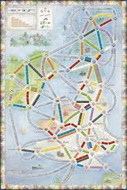 ticket to ride map collection volume united kingdom ticket to ride map collection volume 5 united kingdom pennsylvania image boardgamegeek
