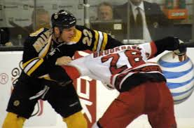 violence in sports ice hockey