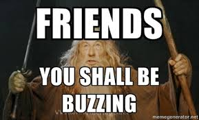 FRIENDS YOU SHALL BE BUZZING - You shall not pass | Meme Generator via Relatably.com
