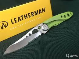 <b>Нож Leatherman Skeletool kbx</b> green - Хобби и отдых ...