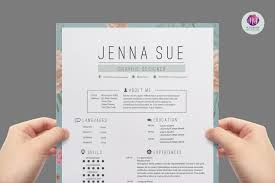 modern resume template resume templates on creative market modern resume template