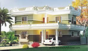Two Story Kerala House Plans   Kerala Style Housekerala style house