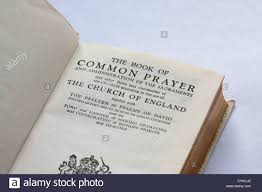 the book of common prayer title page on white background stock photo the book of common prayer 1662 title page on white background