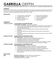 benefits manager resumes template benefits manager resumes