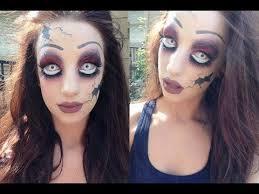 edition creepy broken doll makeup tutorial