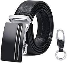 flintronic <b>Men's Leather</b> Belt, Automatic Buckle <b>High Quality Leather</b> ...
