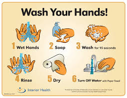 walmart food safety high five know the high five and follow them handwashing posters food safety posters page 2