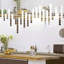 10pcs set muslim acrylic wall mirror stickers for tv background bedroom 3d diy removable art decor decal self adhesive wallpaper