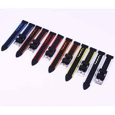 <b>20mm</b> 22mm 24mm 26mm <b>Soft Silicone Watch Band Rubber Watch</b> ...