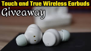 Giveaway   <b>A5 TWS</b> Tuch And True <b>Wireless</b> Stereo <b>Earbuds</b> ...
