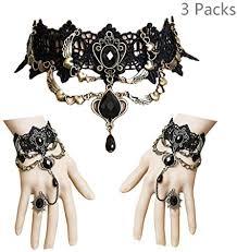 <b>Women's</b> Fashion <b>Jewelry</b> Retro Vintage White Floral Cut Out Lace ...