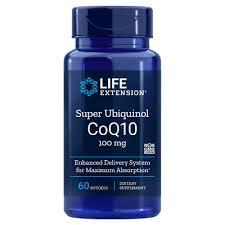 <b>Super Ubiquinol CoQ10</b> | 60 Softgels | Life Extension Europe