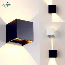 <b>QLTEG</b> 6W 12W <b>LED Wall Light</b> Outdoor Waterproof IP65 Modern ...