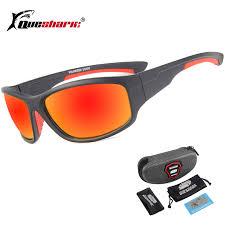 QUESHARK UV400 Men <b>Polarized Fishing Sunglasses</b> Fisherman ...