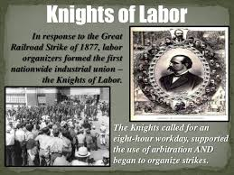 「The Knights of Labor, a labor union of tailors in Philadelphia,」の画像検索結果