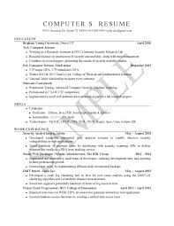 sample resumes university career services stem