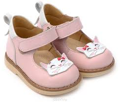 Купить <b>туфли TapiBoo</b>, цвет: розовый. <b>Туфли для девочки</b> Кошка ...