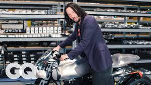 Keanu Reeves Shows Us His Most Prized <b>Motorcycles</b> | Collected ...