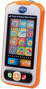 VTech Touch and Swipe Baby Phone, Orange, Great ... - Amazon.com