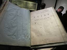 bodleian library marks of genius oxford alexander pope essay on criticism bodleian library marks of genius