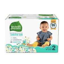 <b>Free & Clear</b> Baby <b>Diapers</b> - Size 2 | Seventh Generation