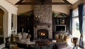 custom cabinet dorm room living room with stone fireplace design check lighting ideas won39t