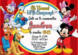 mickey mouse birthday invitation template com mickey mouse birthday invitations templates drevio invitations