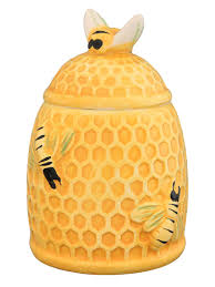 "<b>Горшочек для меда</b> ""Пчелки на сотах"", 300 мл. Elan Gallery ..."