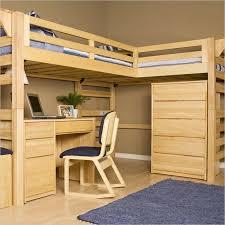 image of loft bunk bed with desk wooden bunk beds desk drawers bunk