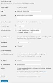 woocommerce authorize net aim woocommerce docs woocommerce authorize net aim credit card settings