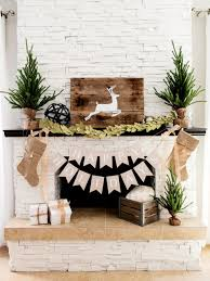 rustic style living room clever: glittery and glamorous ci tomkat christmas fireplace mantel rustic vjpgrendhgtvcom