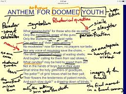 showme analyzing tensions in poetry analysis of anthem for doomed youth wilfred owen