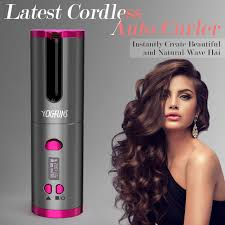 <b>Cordless Hair Curler</b>, YCIGFUNS USB <b>Rechargeable</b> Auto <b>Curling</b> ...