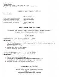 sample resume bank teller sample resume for bank teller bank teller sample resume