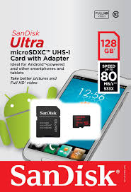<b>Ultra microSDXC</b> Card with Adapter 128GB for Nintendo Switch ...