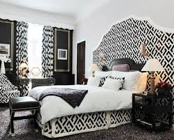 eclectic style with black and white integrated elements in interior contemporary design black white bedroom design suggestions interior