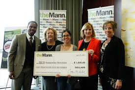 liberty unplugged the mann center congratulations to samantha siermine a junior graphic design student at the moore college of art design who was presented a scholarship from the