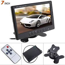 ePathChina 7 Inch Ultra Thin HD 800480 <b>TFT LCD</b> Color <b>Car</b> Rear ...