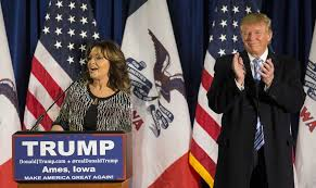 Image result for Trump and Palin