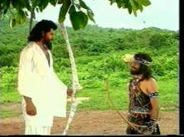 Image result for arjuna meets shiva
