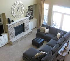 colours beautiful beige living room grey sofa