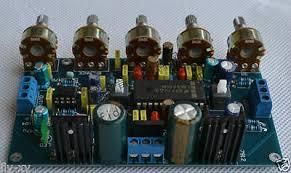 <b>LM4610</b> + <b>NE5532</b> preamp <b>LM4610</b> tone control Board with ...