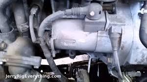 '02-'06 Honda CR-V Starter Motor Removal - YouTube