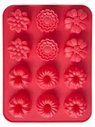 <b>Форма для выпечки Cupcakes</b> 31*24*3 см красная, на 12 кексов ...